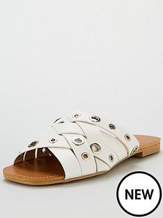 lost-ink-samm-eyelet-detail-flat-sandal