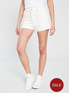 levis-501reg-high-rise-shorts-white
