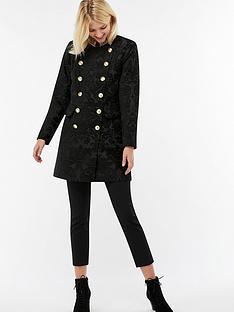 monsoon-angela-peace-jacquard-coat-black