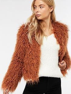 monsoon-margaret-short-faux-fur-coat-rust