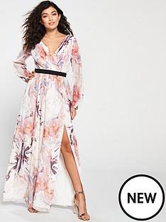 little-mistress-floral-printed-maxi-wrap-dress-multi