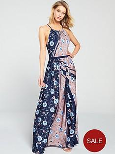 little-mistress-high-neck-floral-printed-maxi-dress-multi