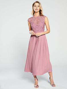 little-mistress-crochet-top-pleated-skirt-midaxi-dress-blush