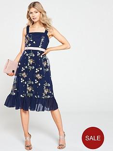 little-mistress-petite-embroidered-midi-dress-navy