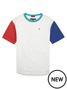 tommy-hilfiger-boys-contrast-short-sleeve-t-shirt-white