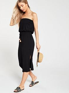 v-by-very-tube-midi-dress-black