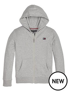 tommy-hilfiger-boys-logo-zip-through-hoodienbsp--grey