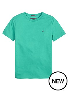 tommy-hilfiger-boys-short-sleeve-essential-flag-t-shirt-green