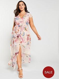 little-mistress-curve-lace-trim-floral-printed-maxi-dress-pink
