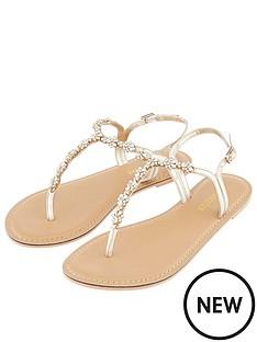 b50ce989de14e Accessorize Reno Embellished Sandal