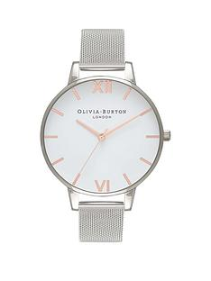 olivia-burton-olivia-burton-white-with-rose-gold-and-silver-detail-big-dial-stainless-steel-mesh-strap-ladies-watch