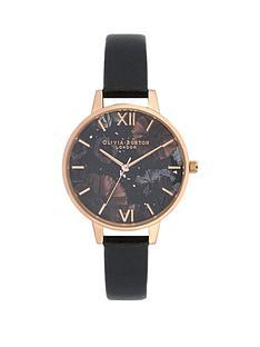 olivia-burton-olivia-burton-celestial-black-and-rose-gold-demi-dial-black-leather-strap-ladies-watch