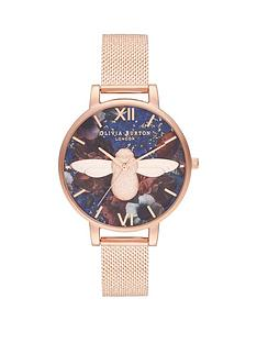 olivia-burton-olivia-burton-lapi-lazuli-and-rose-gold-3d-bee-big-dial-rose-gold-stainless-steel-boucle-mesh-strap-ladies-watch