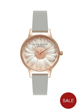 olivia-burton-olivia-burton-white-and-rose-gold-3d-daisy-midi-dial-grey-leather-strap-ladies-watch