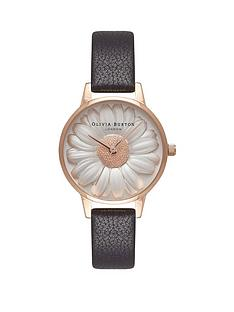 olivia-burton-olivia-burton-white-and-rose-gold-3d-daisy-midi-dial-black-leather-strap-ladies-watch