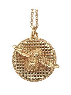 olivia-burton-olivia-burton-18k-gold-plated-3d-bee-and-coin-pendant-necklace