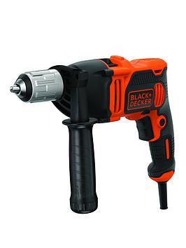 black-decker-blackdecker-850w-corded-hammer-drill-kitbox