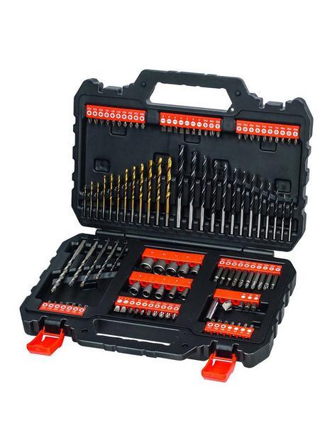 black-decker-blackdecker-109pc-drill-bit-set