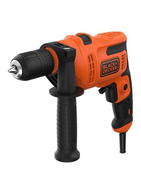 black-decker-blackdecker-500w-corded-var-speed-hammer-drill-keyless-chuck