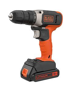 black-decker-blackdecker-18v-lithium-ion-drilldriver