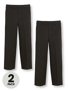 v-by-very-boys-2-pack-pull-on-school-trousers-black
