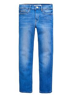 calvin-klein-jeans-girls-slim-fit-jeans-bright-blue