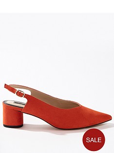 miss-selfridge-round-heel-slingbacknbsp--coral