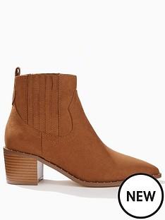 miss-selfridge-western-boot