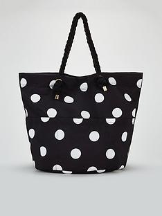 michelle-keegan-jessica-oversized-beach-bag-black