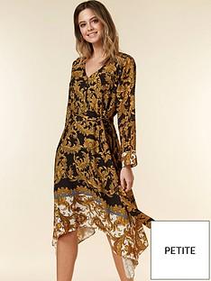wallis-petite-baroque-dress