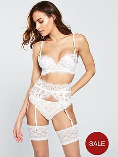 54375600cf02 Ann Summers Camealia Bridal Longline Plunge Bra - Ivory