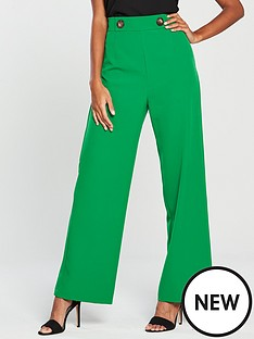 miss-selfridge-miss-selfridge-button-high-waist-wide-leg-trouser