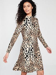 wallis-leopard-swing-dress
