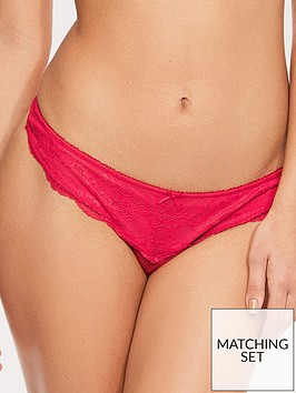 figleaves-juliette-lace-thong-red