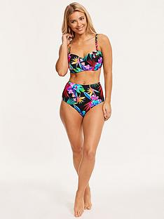 figleaves-bora-bora-high-waist-tummy-control-bikini-briefs-black-tropical