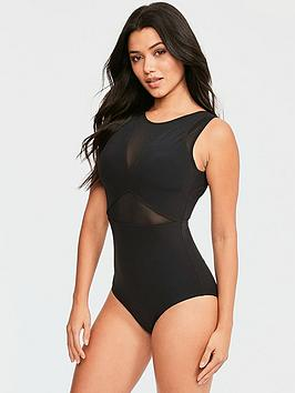 figleaves-mesh-shaping-swimsuit-black