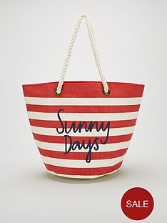 joules-stripe-sunny-days-printed-beach-bag-red