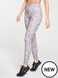 michelle-keegan-animal-print-gym-leggings-printed