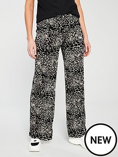 v-by-very-plisseacutenbspwide-leg-trouser-animal-print