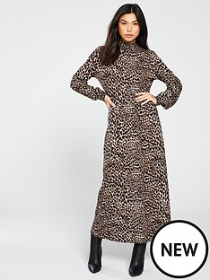 warehouse-leopard-jersey-midi-dress-printednbsp
