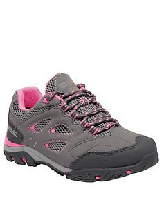 8ff5451f1c8 Regatta Holcombe IEP Low Junior Walking Shoes - Grey Pink