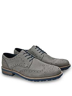 joe-browns-grey-nubuck-brogues