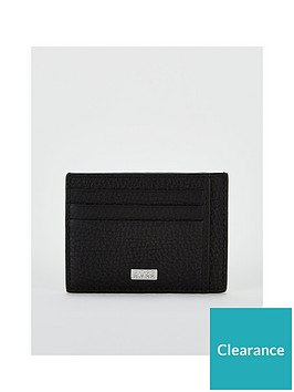 boss-crosstown-leather-cardholder-black