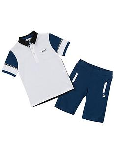 boss-boys-2-piece-polo-shirt-and-shorts-outfit-whiteblue