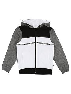 boss-boys-zip-through-colourblock-hooded-sweat-top-greyblack