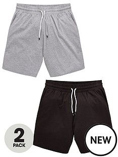 v-by-very-2-pack-jersey-loungewear-shorts-greyblack