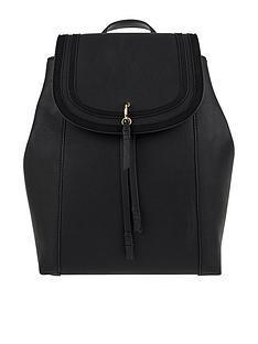 63e374cab0 Accessorize Ellie Faux Leather Backpack - Black