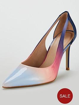 b518ab15e48f Carvela Alicia Heeled Court Shoe - Pink/Multi | littlewoodsireland.ie