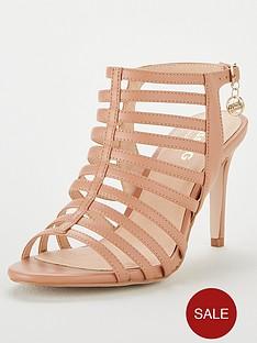 e8f7da406e Miss KG Miss Kg Primrose Wide Fit Gladiator Heeled Sandal