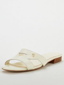 ece45ca18d7 Odina Flat Cut Out Sandals - Cream